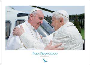 Papa Francesco (poster 35 x 25 cm)