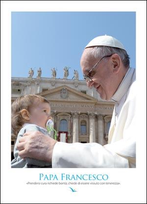 Papa Francesco (poster 50 x 70 cm)
