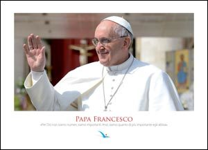 Papa Francesco (poster 70 x 50 cm)