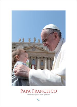 Papa Francesco (poster 25 x 35 cm)