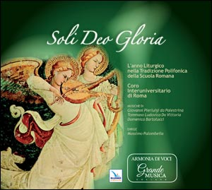 Soli Deo Gloria. Cd musicale