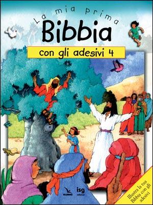 Mia prima Bibbia con gli adesivi (La)