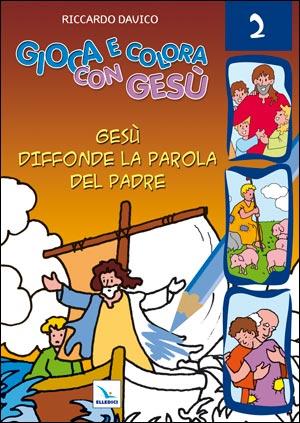 Gioca e colora con Gesù