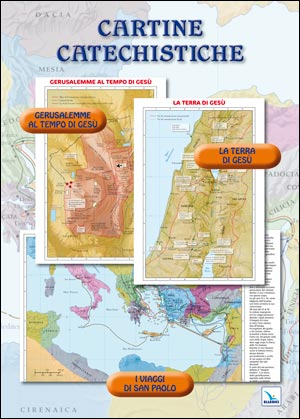Cartine catechistiche (3 carte geografiche)