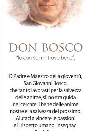 Segnalibro Don Bosco - 8 - Confezione da 100 pezzi