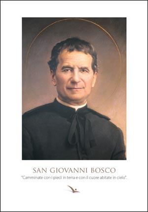 Cartolina Don Bosco - 10 - Confezione da 100 pezzi