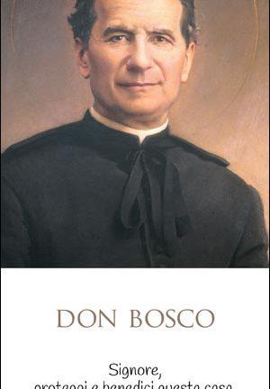 Immagine Don Bosco con benedizione - 1 - Confezione da 100 pezzi