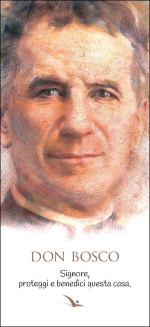 Immagine Don Bosco con benedizione - 2 - Confezione da 100 pezzi