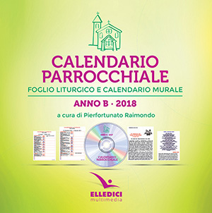 Calendario parrocchiale. Anno B 2018