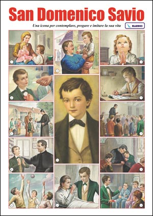 San Domenico Savio. Mini poster