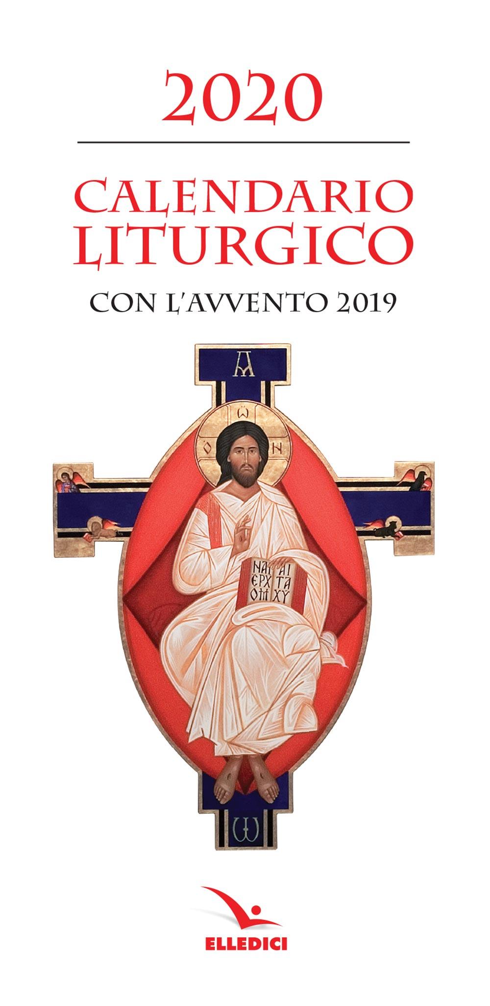 Calendario Liturgico Romano 2020.Calendario Liturgico 2020