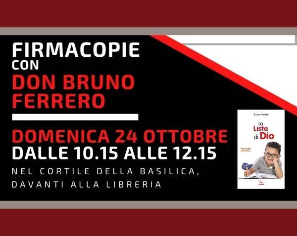 """Linea Valdocco: incontro con don Bruno Ferrero, in occasione del nuovo libro """"La lista di Dio"""""""